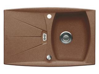 Zlewozmywak MILAN 780x510mm MIG 614 orzechowy 114.0067.396 Franke