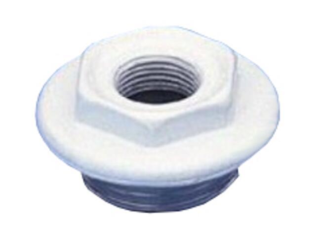 """Korek redukcyjny do grzejników aluminiowych 1""""x1/2"""" gz/gw prawy TiA"""