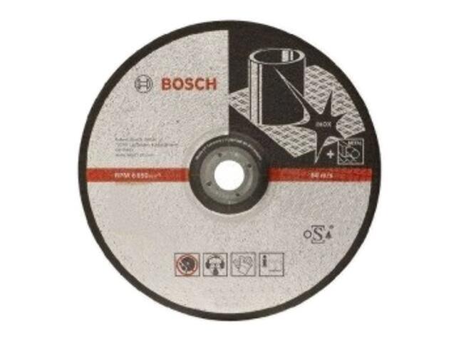 Tarcza ścierna D180x22x6mm INOX BF, 2608600540 Bosch