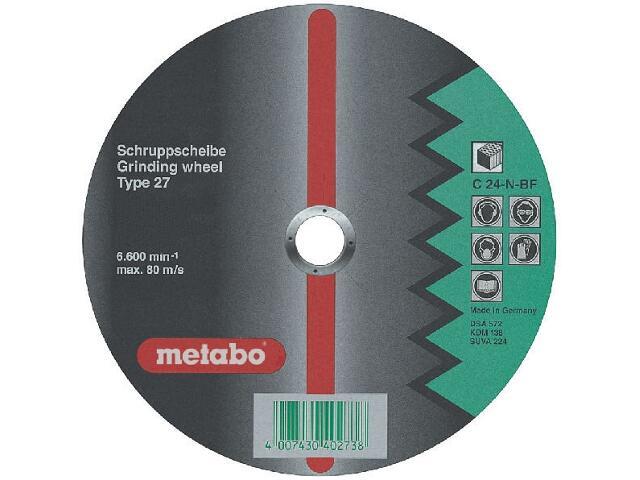 Tarcza ścierna Flexiamant super C 24-N 150x6x22,2mm do kamienia (wypukła) Metabo