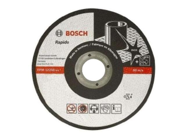 Tarcza tnąca D115x22,2mm X1 RAPIDO, 2608600545 Bosch