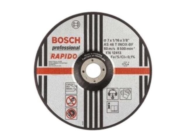 Tarcza tnąca D180x22x1,6mm RAPIDO, 2608600710 Bosch