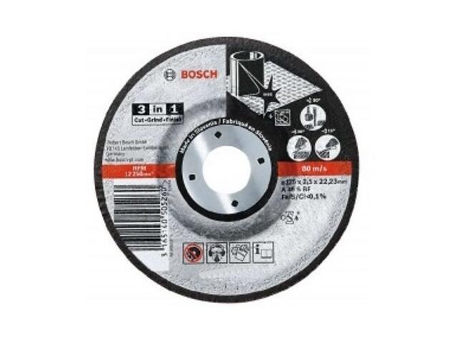 Tarcza tnąca 115mm 3w1, 2608602388 Bosch