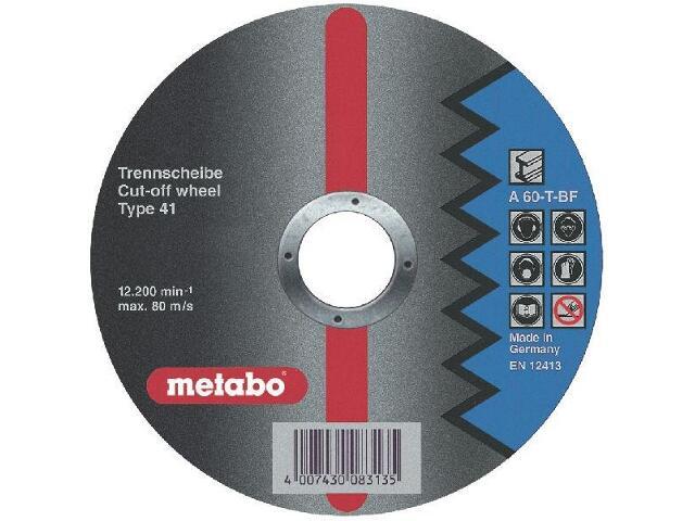 Tarcza tnąca Flexiamant super A 60-T 115x1x22,2mm do stali Metabo