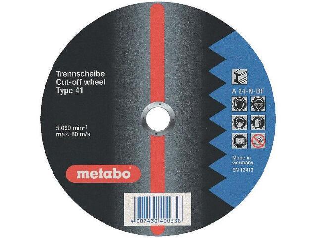 Tarcza tnąca Flexiamant super A 24-N 300x3,5x20mm do stali Metabo