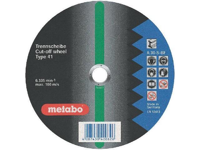 Tarcza tnąca Flexiamant super A 30-S 400x4x25,4mm do stali Metabo