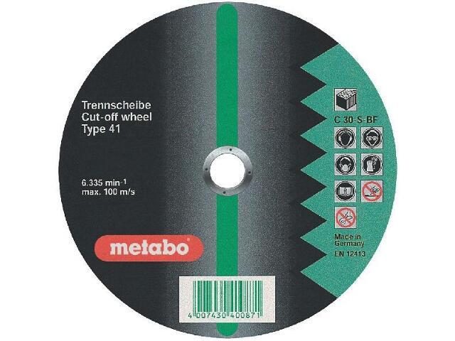 Tarcza tnąca Flexiamant super C 30-S 350x3,5x25,4mm do kamienia Metabo