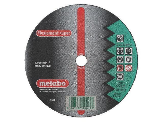 Tarcza tnąca Flexiamant super C 30-S 230x3x22,2mm do kamienia (wypukła) Metabo