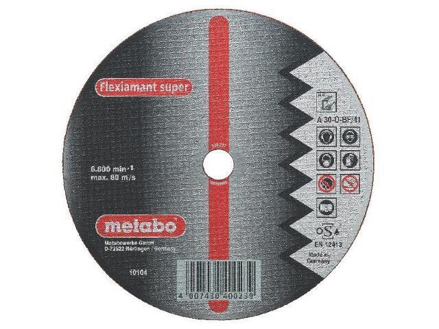 Tarcza tnąca Flexiamant super A 30-O 115x2,5x22,2mm do aluminium wypukła Metabo