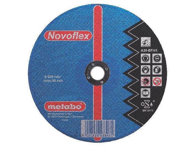 Tarcza tnąca Novoflex A 30 115x2,5x22,2mm do stali (wypukła) Metabo