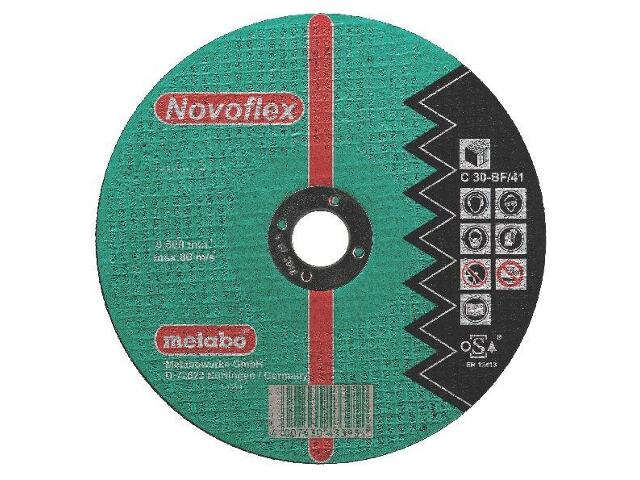 Tarcza tnąca Novoflex C 30 115x2,5x22,2mm do kamienia (wypukła) Metabo