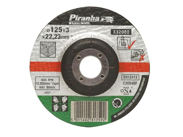 Tarcza tnąca 125x22,2x3,2 BETON Piranha