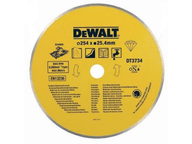 Tarcza tnąca do porcelany/kamienia 250mm DeWALT