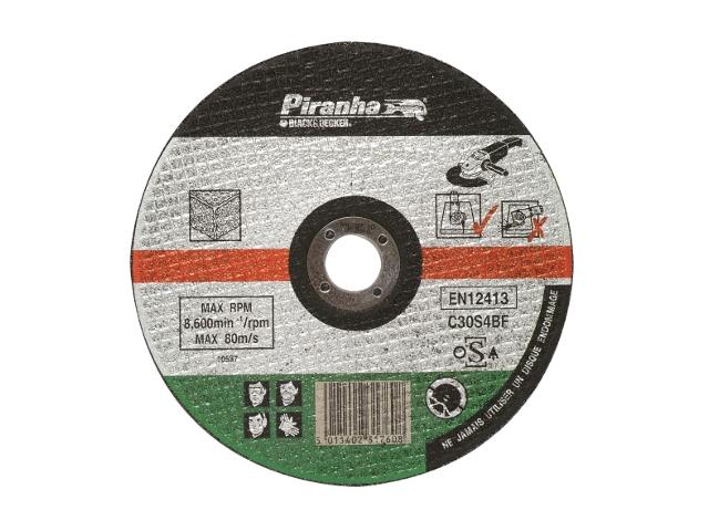 Tarcza tnąca 125x22,2x1,6 BETON Piranha