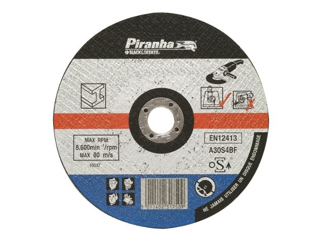 Tarcza tnąca 115x22,2x1,6 STAL Piranha