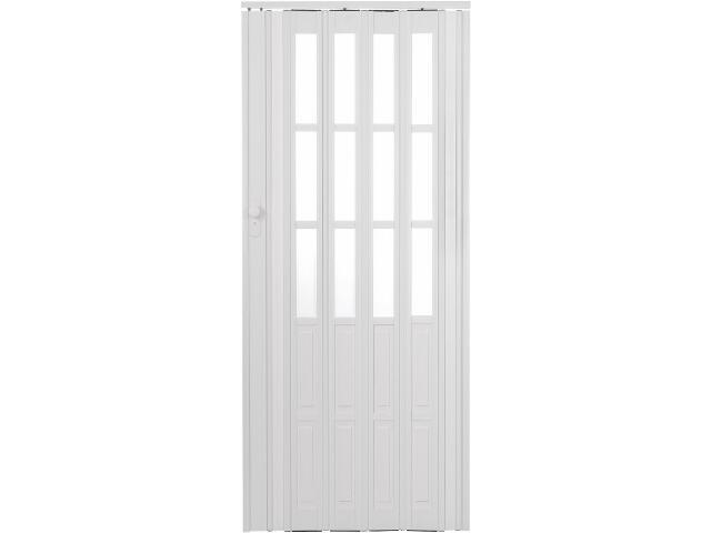 Drzwi harmonijkowe ST10 białe 88cm Standom