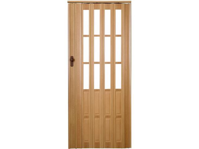 Drzwi harmonijkowe ST10 buk 88cm Standom
