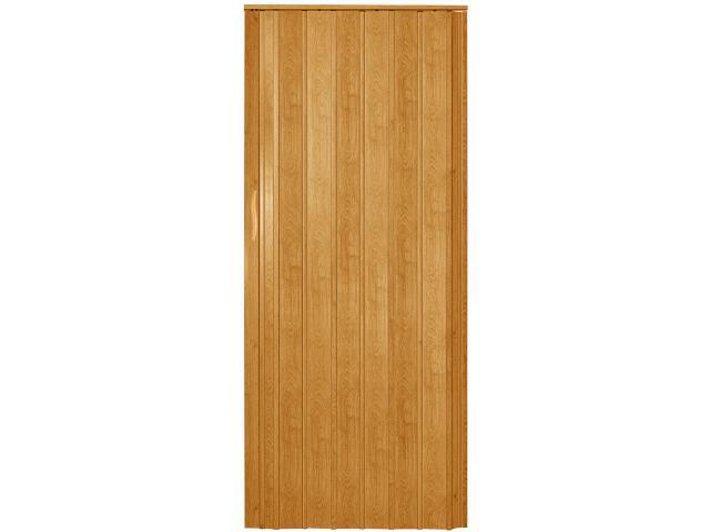 Drzwi harmonijkowe ST7 jasny dąb 89cm Standom