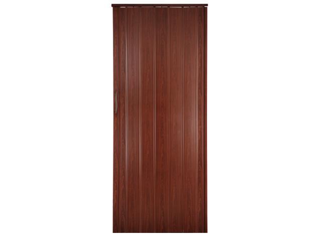Drzwi harmonijkowe ST8 mahoń 82cm Standom
