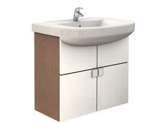Zestaw umywalka PRIMO 75cm z szafką PRIMO 69,8cm biała 16005144 Koło