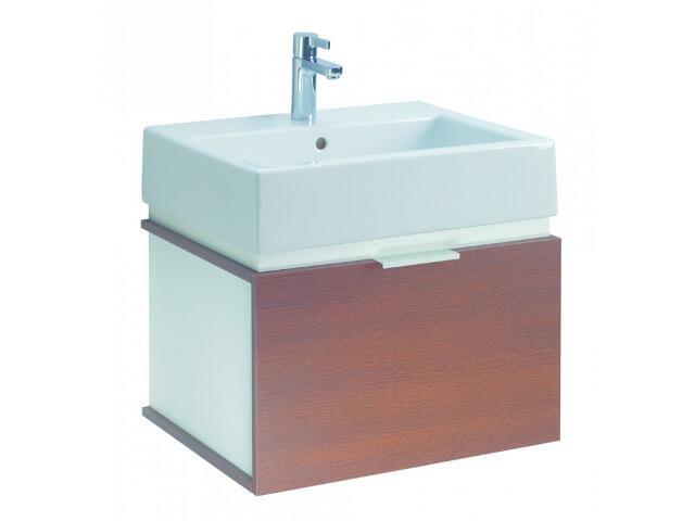 Szafka z umywalką w zestawie TWINS 50 15620070 biała / wenge Koło