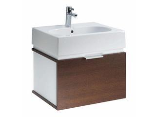Szafka z umywalką w zestawie TWINS 50 15620074 biała / wenge Koło