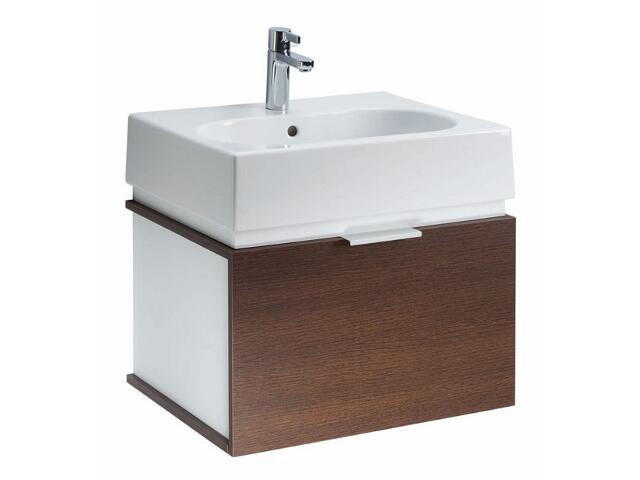 Szafka z umywalką w zestawie TWINS 50 15620082 biała / wenge Koło