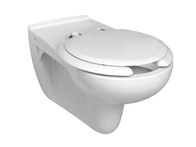 Miska WC wisząca dla niep. NOVA TOP BEZ BARIER lejowa z uchwytem uchylnym 69206000 Koło