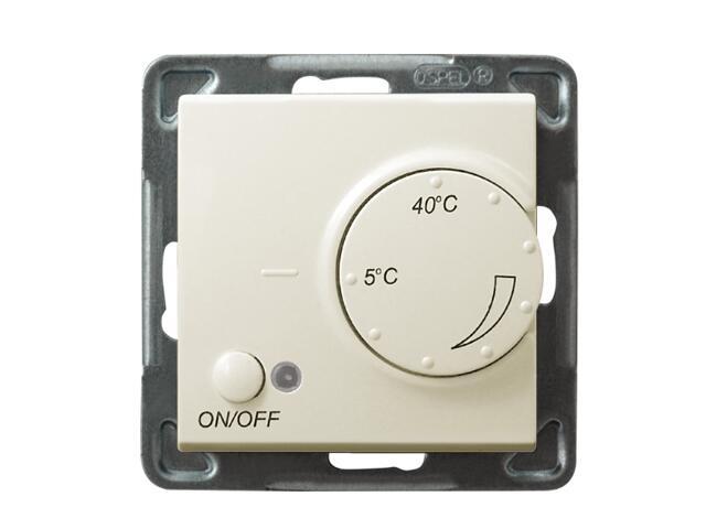 Termoregulator SONATA MODUŁ temperatury ecru Ospel