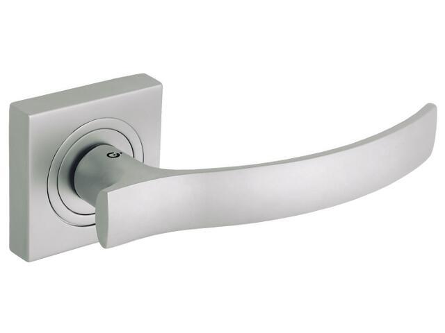 Klamka drzwiowa VITALIS szyld dzielony nikiel satynowy DH-03-22-06-KW Gamet