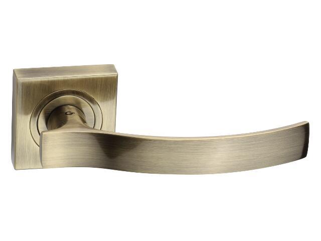 Klamka drzwiowa VITALIS szyld dzielony mosiądz antyczny DH-03-22-AB-KW Gamet