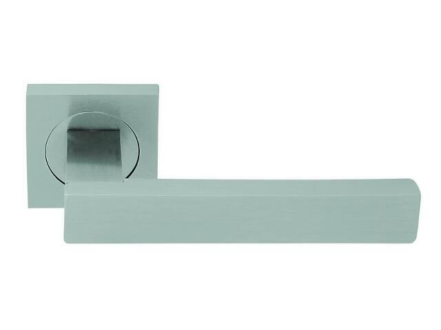 Klamka drzwiowa OTELLO szyld kwadratowy nikiel matowy VE-M07-KW-NM Verdi