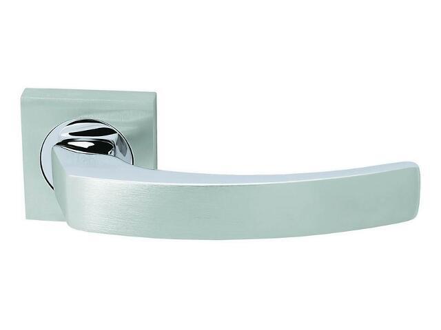 Klamka drzwiowa TRAVIATA szyld kwadratowy chrom / chrom matowy VE-M09-KW-CR-CS Verdi