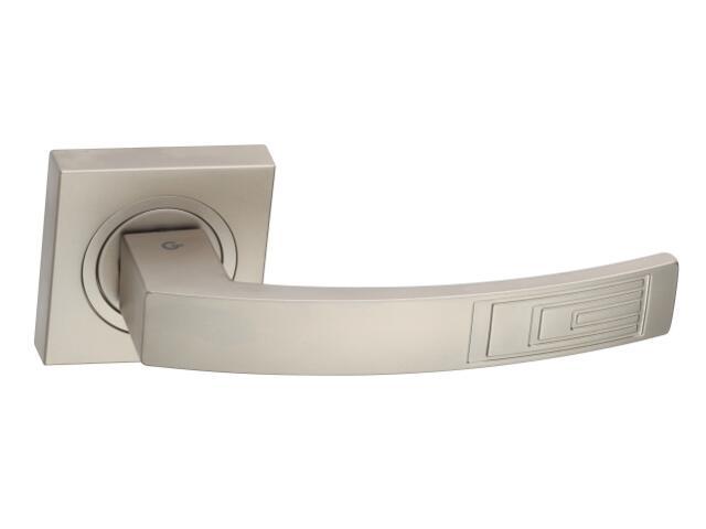Klamka drzwiowa HYDRA szyld dzielony nikiel satynowy DH-14-22-06-KW Gamet