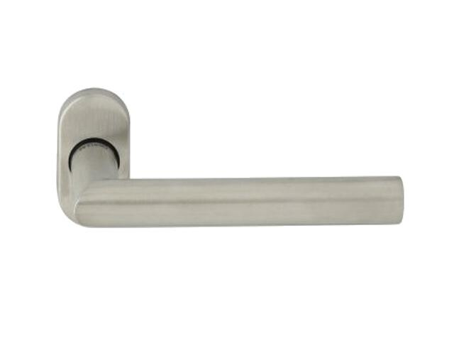 Klamka drzwiowa IMAGE-R EF 2072 szyld dzielony owalny stal nierdzewna TUPAI