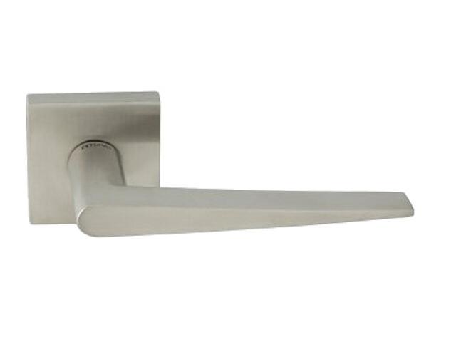 Klamka drzwiowa COSMO-QR EF 2251Q szyld drzwiowy kwadratowy stal nierdzewna TUPAI