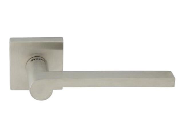 Klamka drzwiowa FINGER-QR EF 2252Q szyld dzielony kwadratowy stal nierdzewna TUPAI