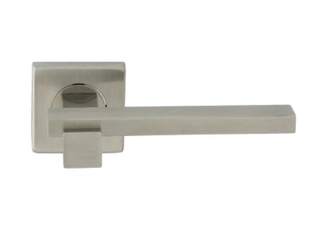 Klamka drzwiowa KATE-QR EF szyld dzielony kwadratowy Domino