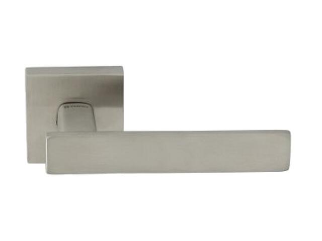 Klamka drzwiowa AVEIRO-QR EF 3030Q szyld dzielony kwadratowy stal nierdzewna TUPAI
