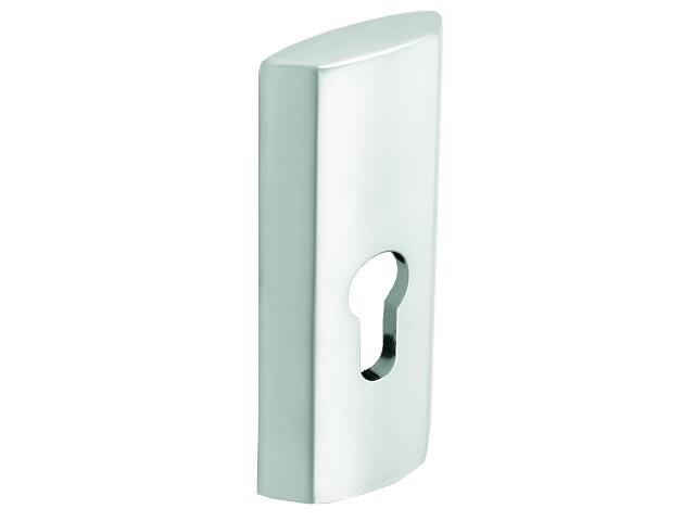 Szyld drzwiowy zewn. wkładka chrom satynowy PLT-23Z-Y-08-SU Gamet