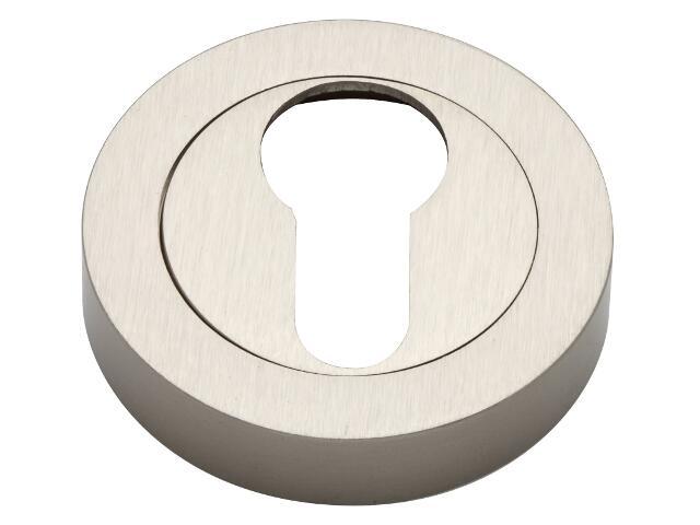 Szyld drzwiowy okrągły wkładka nikiel matowy VES-OK-Y-NM Verdi