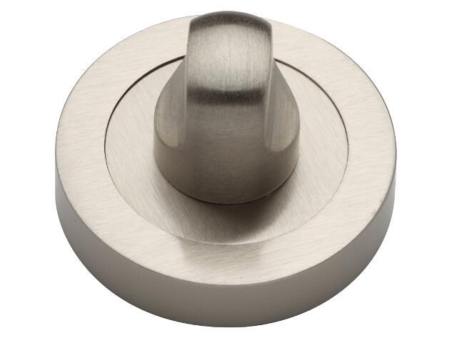 Szyld drzwiowy okrągły WC nikiel matowy VES-OK-WC-NM Verdi