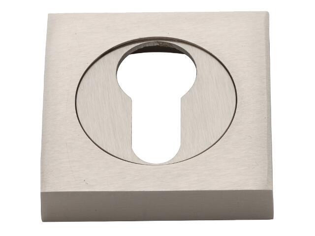 Szyld drzwiowy kwadratowy wkładka nikiel matowy VES-KW-Y-NM Verdi