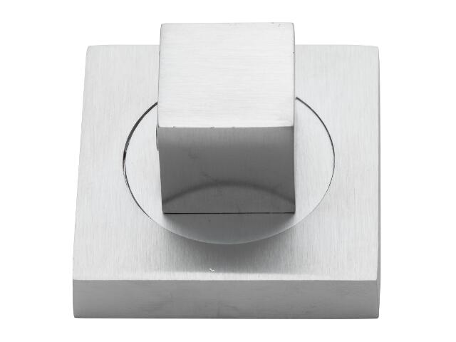 Szyld drzwiowy kwadratowy WC chrom matowy VES-KW-WC-CS Verdi