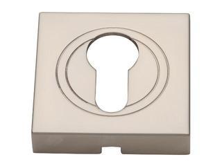 Szyld drzwiowy kwadratowy wkładka nikiel satynowy PLT-23-Y-06-KW-SU Gamet
