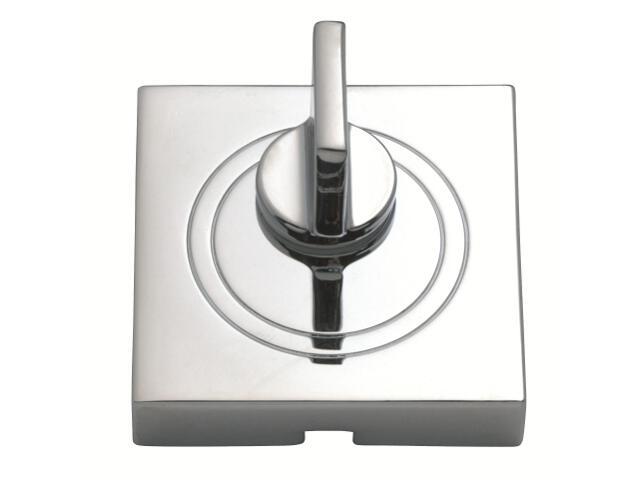 Szyld drzwiowy kwadratowy WC chrom PLT-23WC-04-KW-SU Gamet