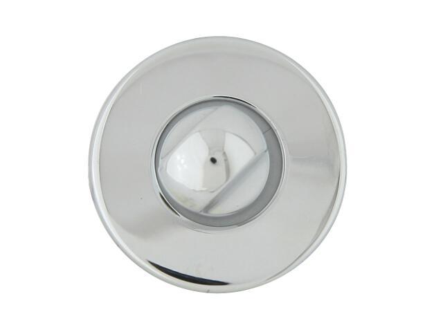 Szyld drzwiowy okrągły 6060 WC chrom lakierowany ROSSETTI