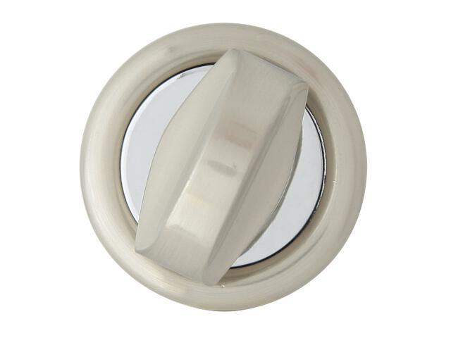 Szyld drzwiowy okrągły 900 WC chrom lakierowany/nikiel lakierowany Domino