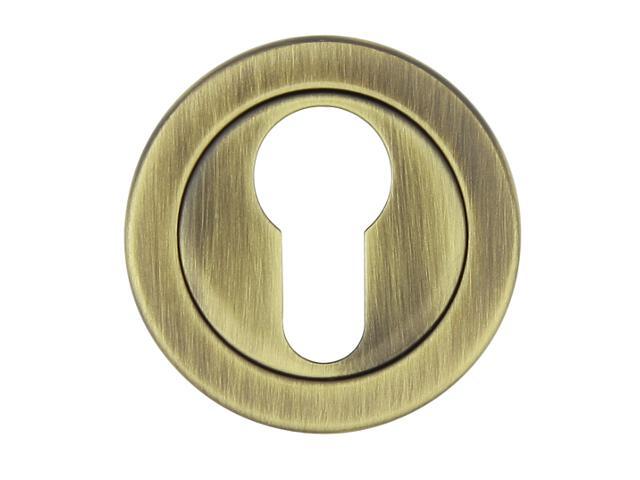 Szyld drzwiowy okrągły 780 wkładka bębenkowa brąz grafiatto TUPAI