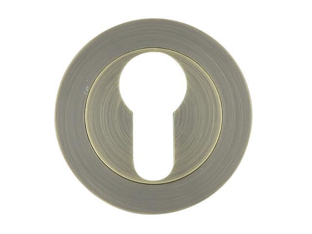 Szyld drzwiowy okrągły 600 wkładka bębenkowa brąz grafiatto Domino